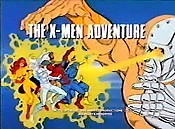 The X-Men Adventure Picture Into Cartoon