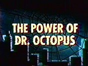 The Power Of Dr. Octopus Cartoon Picture