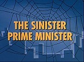 The Sinister Prime Minister Cartoons Picture