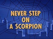 Never Step On A Scorpion Picture Of Cartoon