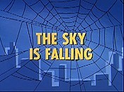 The Sky is Falling Cartoon Picture