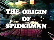 The Origin Of Spiderman Cartoon Picture