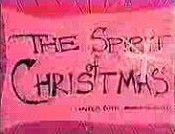 The Spirit Of Christmas (Jesus Vs. Frosty) Picture Of Cartoon