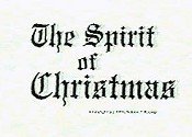 The Spirit Of Christmas (Jesus Vs. Santa) Free Cartoon Picture