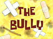 The Bully Cartoon Picture