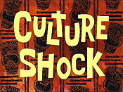 Culture Shock Cartoon Picture