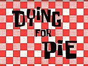 Dying For Pie Cartoon Picture