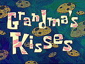 Grandma's Kisses Cartoon Picture