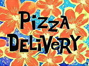 Pizza Delivery Picture Of Cartoon