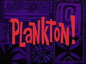 Plankton! Pictures Of Cartoon Characters