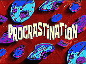 Procrastination Cartoon Picture
