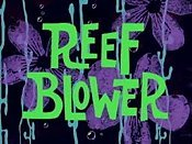 Reef Blower Cartoon Picture