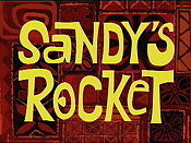 Sandy's Rocket Cartoon Picture