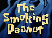 The Smoking Peanut Cartoon Picture