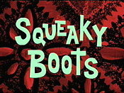 Squeaky Boots Picture To Cartoon