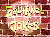Squirrel Jokes Cartoon Picture