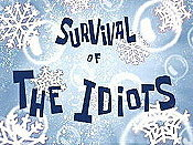 Survival Of The Idiots Cartoon Picture