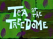Tea At The Treedome Cartoon Picture