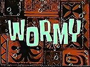 Wormy Cartoon Picture