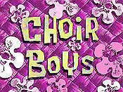 Choir Boys Cartoon Picture