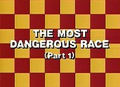 The Most Dangerous Race, Part 1 Picture Into Cartoon