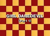 Girl Daredevil, Part 1 The Cartoon Pictures