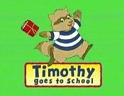 Timothy Goes To School Picture Into Cartoon