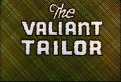 The Valiant Tailor Cartoon Picture