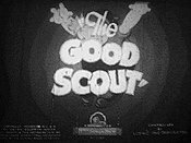 The Good Scout Cartoon Picture