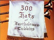 The 500 Hats Of Bartholemew Cubbins Cartoon Picture