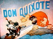 Don Quixote Picture Into Cartoon