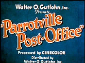 Parrotville Post-Office Pictures To Cartoon