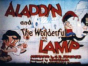 Aladdin And The Wonderful Lamp Picture Into Cartoon