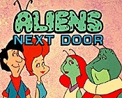 Aliens Next Door Picture To Cartoon