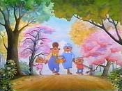 The Berenstain Bears' Easter Surprise Picture To Cartoon