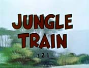 Jungle Train Cartoon Picture