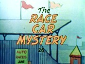 The Race Car Mystery Free Cartoon Pictures