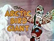 The Arctic Bird Giant Picture Into Cartoon
