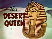 The Desert Queen Cartoon Picture