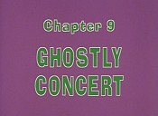 Ghostly Concert Cartoon Picture