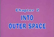 Into Outer Space Free Cartoon Picture