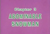 Abominable Snowman Pictures Of Cartoons