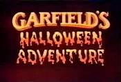 Garfield's Halloween Adventure The Cartoon Pictures