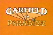 Garfield In Paradise Cartoon Picture