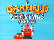 A Garfield Christmas Special Cartoon Picture