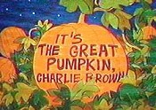 It's The Great Pumpkin, Charlie Brown Cartoon Picture