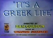 It's A Greek Life Picture Into Cartoon