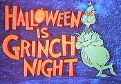 Halloween is Grinch Night Free Cartoon Picture