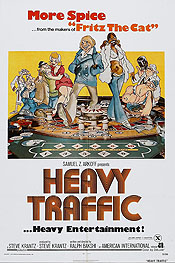 Heavy Traffic Free Cartoon Picture
