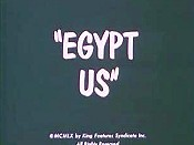 Egypt Us Cartoon Picture